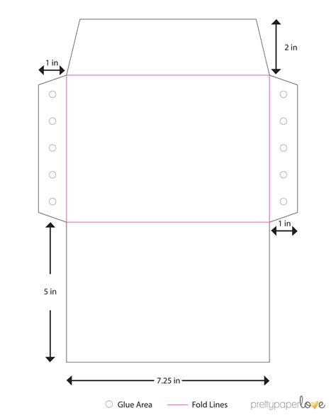 gift card size envelope template envelope a7 envelope template