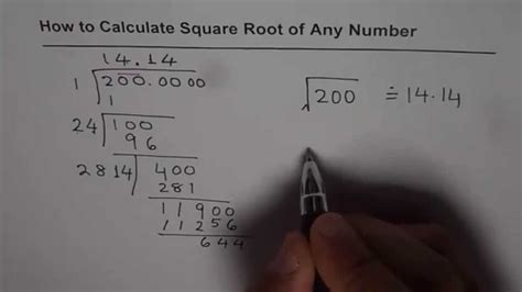 Find Out Where Work How To Calculate Square Root Without Calculator