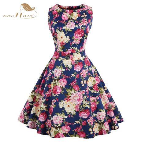 flower pattern dress online buy wholesale 50s dress pattern from china 50s