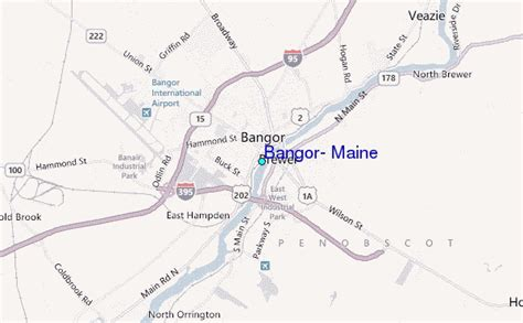 bangor maine map 26 wonderful bangor maine map bnhspine