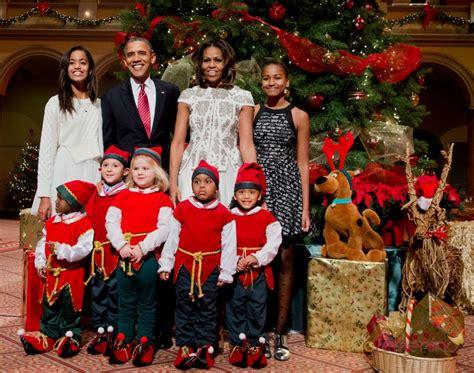 imagenes feliz navidad para la familia la navidad m 225 s feliz de la familia obama