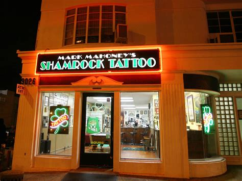 tattoo shops hollywood shamrock social club is the place to get inked in