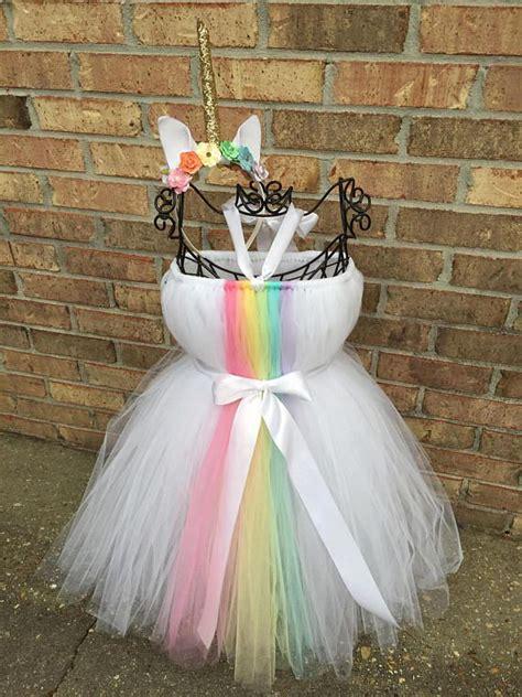 unicorn tutu dress rainbow tutu dress unicorn dress diy