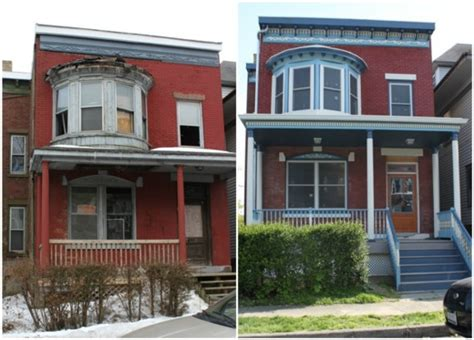 before and after home renovation newburgh upstater