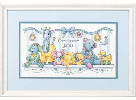 Baby Drawers Birth Record Cross Stitch Kit Dimensions Baby Drawers Birth Record Cross Stitch Kit 73538 123stitch