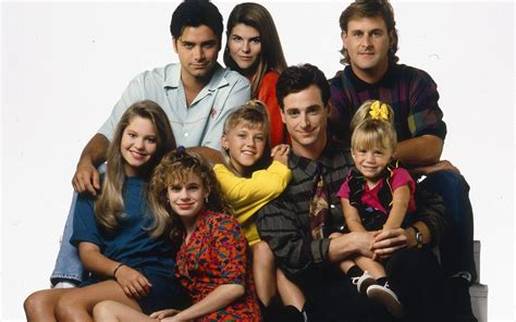full house characters the full house cast then and now