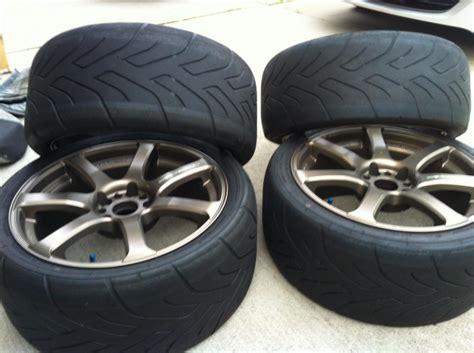 Advan 7 Inch ny works emotion xt7 18 inch with yokohama advan a048 tires clublexus lexus forum discussion