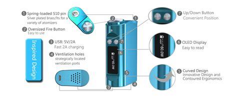 Nano 3tone 668 60w tesla nano tc mod 3600mah fog vape shop est 2010 vancouver burnaby bc canada