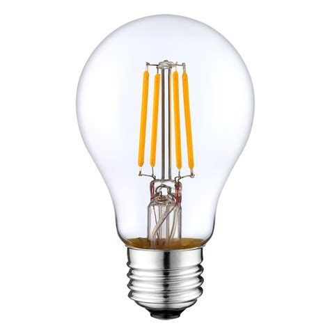 25 Watt Led Light Bulbs A19 Led Filament Bulb 4 Watt Dimmable 25w Equiv 400 Lumens By Lumegen