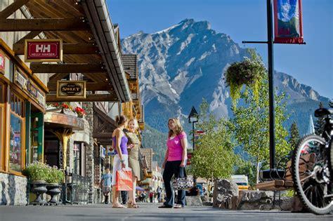 stores in alberta shopping in banff and lake louise ab banff lake louise tourism