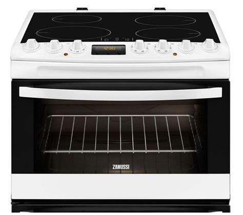 zanussi electric induction cooker buy zanussi zci68330wa electric induction cooker white free delivery currys