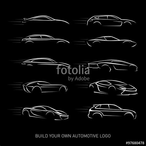 T Shaped Auto Logo by Quot Car Logotypes Silhouette Car Service And Repair Vector