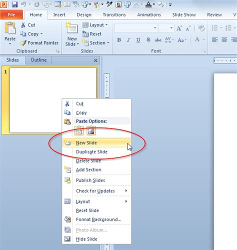 add template to powerpoint how to add a slide to a powerpoint presentation
