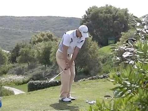 martin kaymer slow motion swing martin kaymer golf swing chipping slow motion volvo