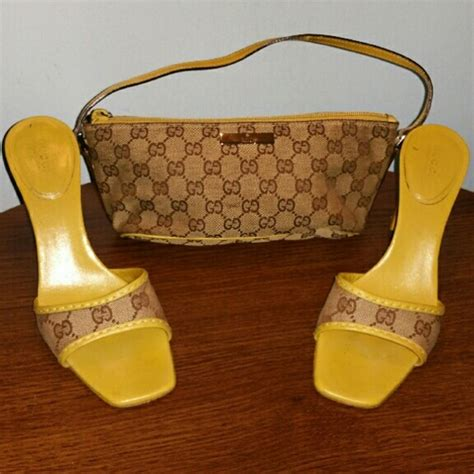 73 gucci shoes authentic gucci flip flops and mini purse set from tamika s closet on poshmark