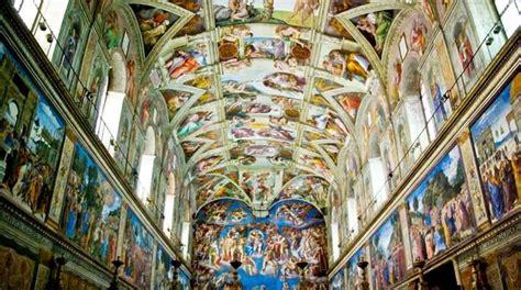 Fresque Plafond Chapelle Sixtine by La Chapelle Sixtine