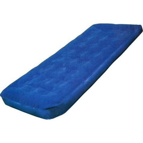 blow up bed single blow up inflatable air bed mattress airbed camp ebay