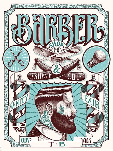 Shop Vanity Fair vanity fair barber shop on behance