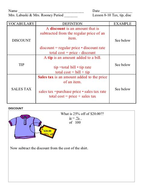 Tax Llm Or Mba by Lesson 8 10 Tax Tip Disc