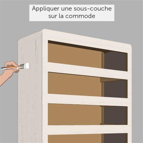 Renover Une Commode by Renover Une Commode Meuble Repeint En Noir Ide De Commode
