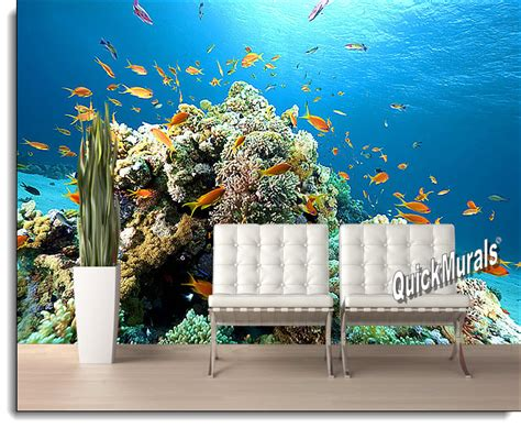 Wall Murals Superstore Coral Reef Peel And Stick Wall Mural