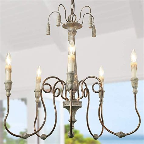 laluz french country chandeliers  living  dining