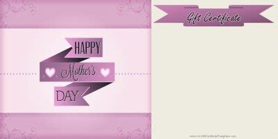 4 5 x 11 gift card template s day gift certificate templates