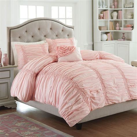 pink king comforter set 25 best ideas about ruffle bedspread on pinterest