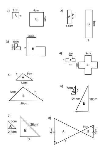 Scale Factor Worksheets 7th Grade by Printables Scale Factor Worksheet Happywheelsfreak