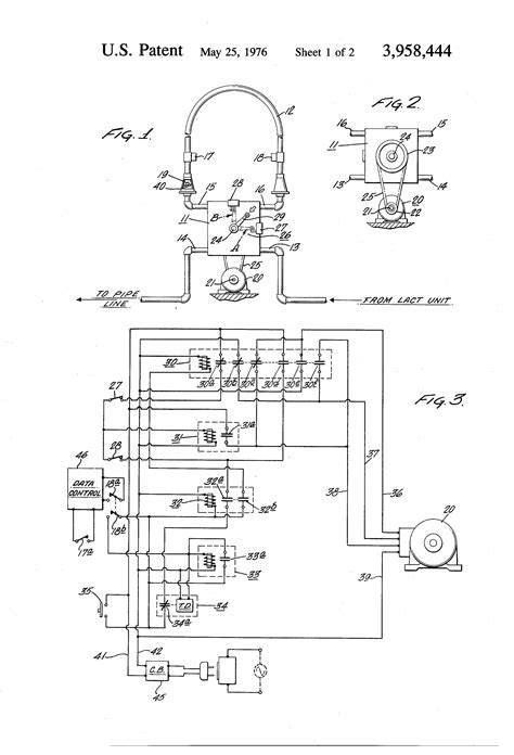 Patent US3958444 - Semi-automatic valve control for a