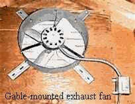 whisper attic fans use powered attic ventilation to improve ventilation