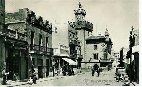 fotos antiguas viladecans plaza y ayuntamiento de viladecans circulada comprar