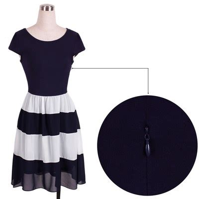 Dress Pakaian Terusan Wanita Black Dress Chiffon L 318849 dress wanita sleeve chiffon vintage dress size l navy blue jakartanotebook