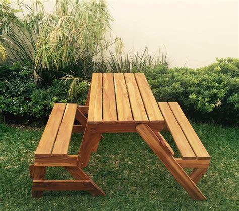 banca se mesa banca de picnic de teca mesa de jardin doblable