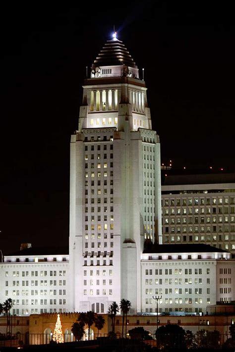 lighting design los angeles los angeles city hall horton lees brogden lighting design