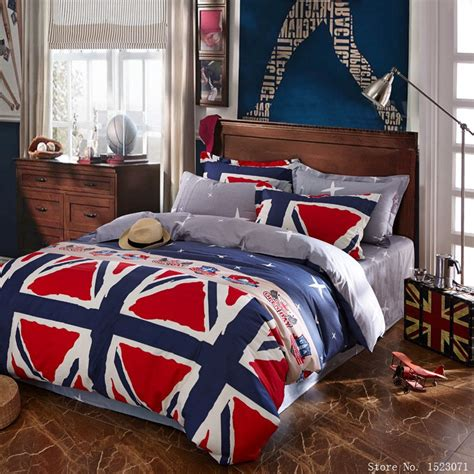 british flag bedding aliexpress com buy fashion 4pcs british flag london duvet cover set american flag