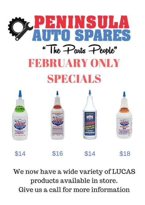 Is February Presidents Month Or Special Sales Month by Specials On Now Peninsula Auto Spares Brisbane