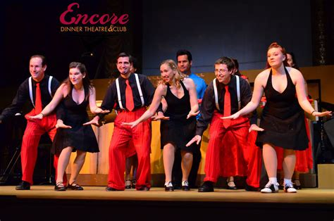 swing the musical encore dinner theatre club now open in old town tustin
