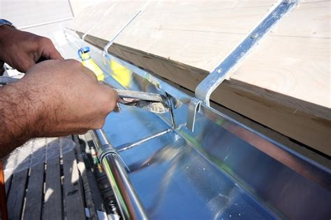 beginner s guide to manually installing gutters leaffilter