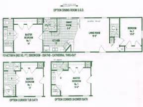 Single Wide Trailer Floor Plans Furniture Single Wide Mobile Home Floor Plans Single