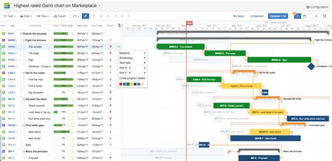 what does a gantt chart show gantt chart view in jira what do you need softwareplant