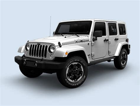 Jeep Polar Edition 2015 Jeep Wrangler And Wrangler Unlimited X Edition