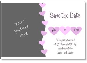 save the date birthday templates free printable invitation templates and announcement templates