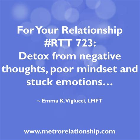 How To Detox Your Mind From Negativity by Rtt 723 Detox From Negative Thoughts Poor Mindset And