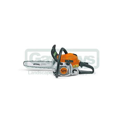 stuhl petrol stihl ms171 petrol domestic chainsaw stihl from gayways uk