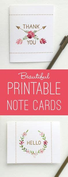 hello thank you card template 1000 images about printables templates on