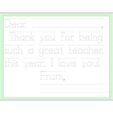 Thank You Letter Stationery appreciation thank you notes appreciation