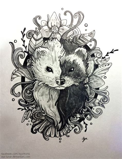 ferret tattoo designs best 25 ferret ideas on ferrets