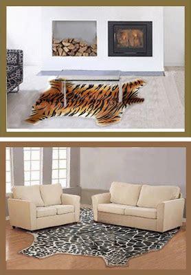 Karpet Karakter Berbulu barakartika karpet kulit bulu