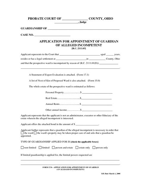best photos of sle legal guardianship form temporary